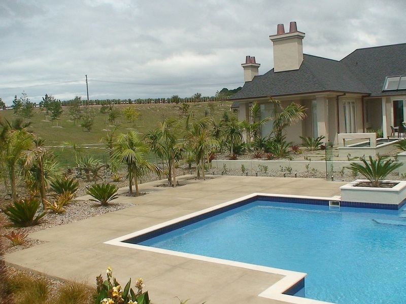 Pool Design Auckland Inground Swimming Pool North Shore New Swimming Pool Area Design